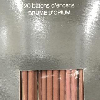 20 bâtons d'encens