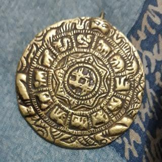 Médaillon calendrier maya