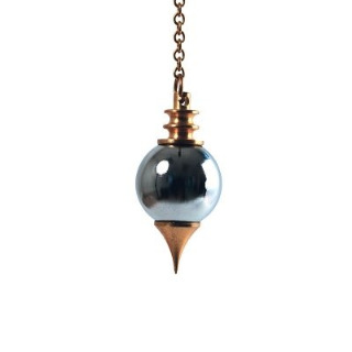 Pendule sphéroton métal