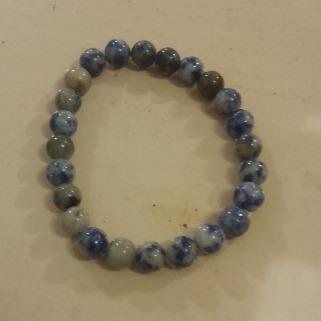 Bracelet sodalite pierre