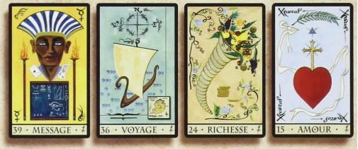 Carte Oracle De La Triade.Oracle De La Triade Divination Et Voyance